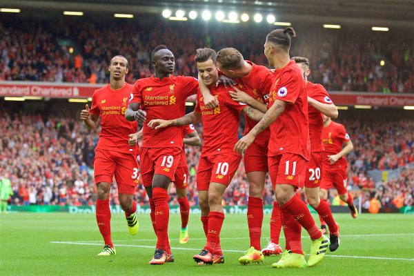 Free-scoring Liverpool make Champions League group stage