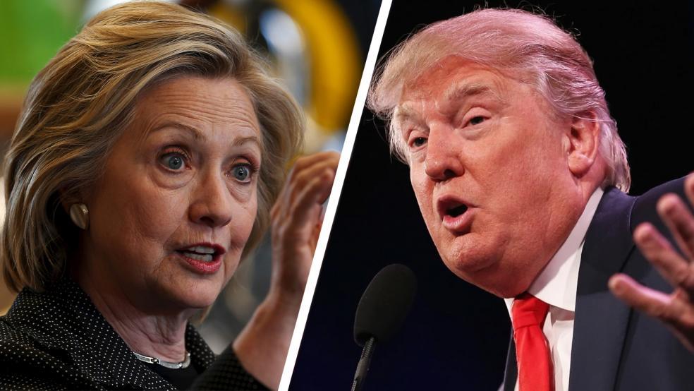 Clinton vs Trump, US Election