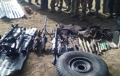 We'll destroy weapons seized from repentant cultists, militants – Army