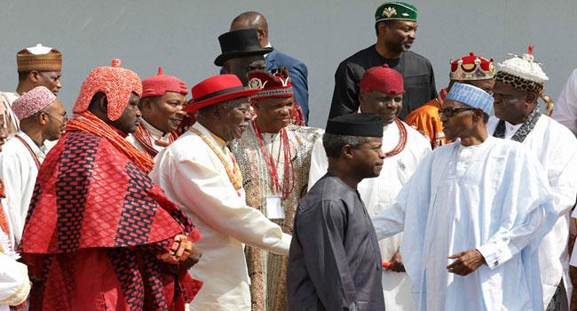 Niger Delta Leaders_Buhari
