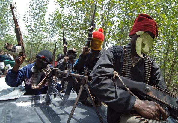 ImageFile: Ex-militants demand oustanding salaries