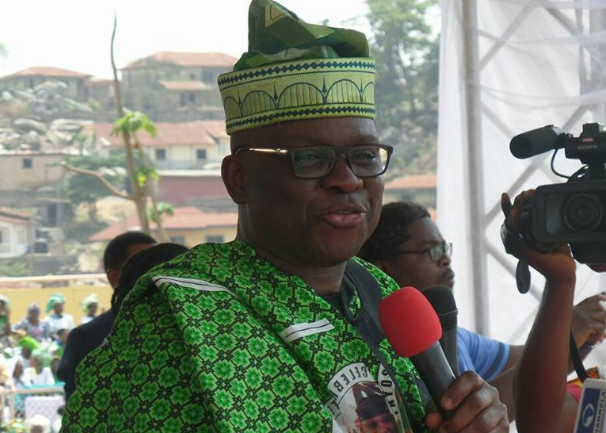 'Nigerians entered once chance with APC, PDP will regain Aso Villa in 2019' – Fayose