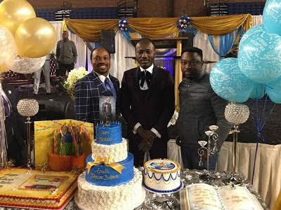 PHOTOS: Despite raging sex scandal, Apostle Suleman celebrates birthday in US
