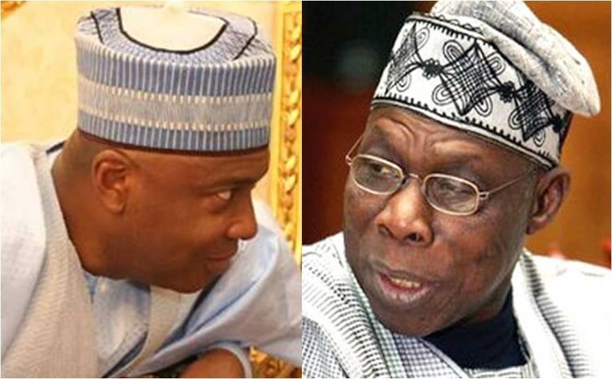 ImageFile: Obasanjo: beacon of national unity, says Saraki