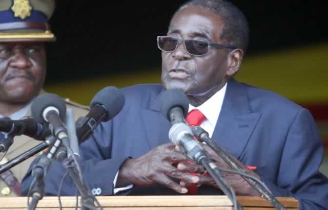 Mugabe donates $1m to AU Foundation