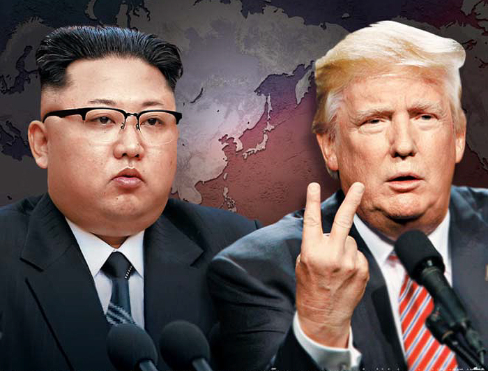 Donald Trump Claims US Military 'Locked And Loaded' For North Korea