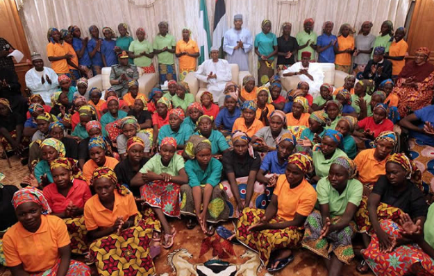 FG allows 106 Chibok girls to spend one week with parents