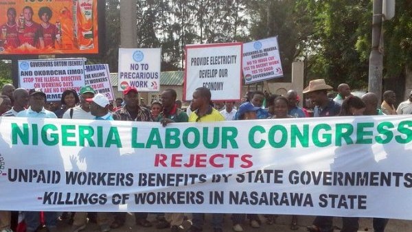 NLC warns FG over implementation time for minimum wage