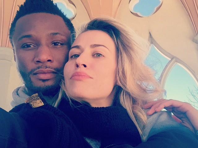 Mikel Obi deletes pictures of Russian girlfriend on instagram