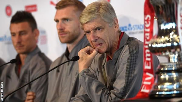 Arsene Wenger denies forward wants to leave Arsenal