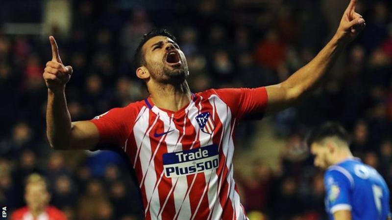 Copa Del Rey: Diego Costa scores on Atletico debut against Lleida