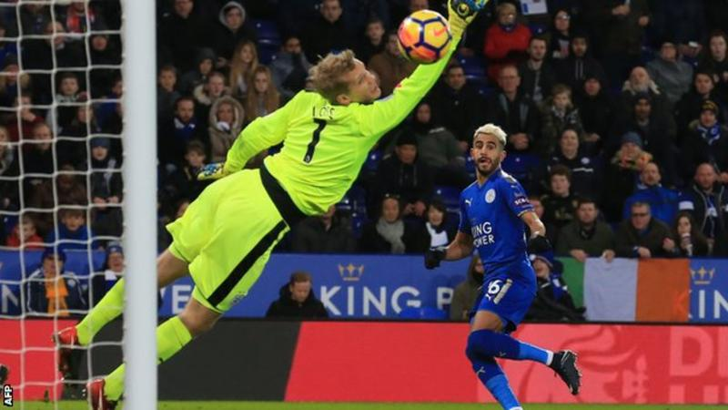 Mahrez, Slimani hand Leicester City ideal start to 2018