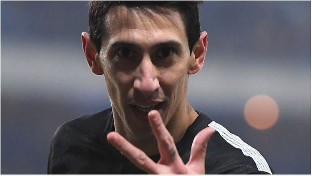 Di Maria fuels PSG as Marseille hit nine in French Cup
