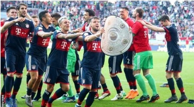 Bayern Set To Claim Title Against Augsburg