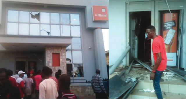 Horror Six policemen several others killed as robbers invade banks in Offa