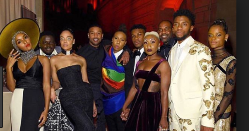 Black Panther's Chadwick Boseman cape-tivates Met Gala