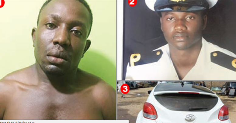 Houseboy, 35 pleads for forgiveness after killing his naval officer boss, girlfriend