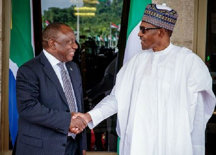 Xenophobic attacks: Buhari, Ramaphosa, meet in Abuja