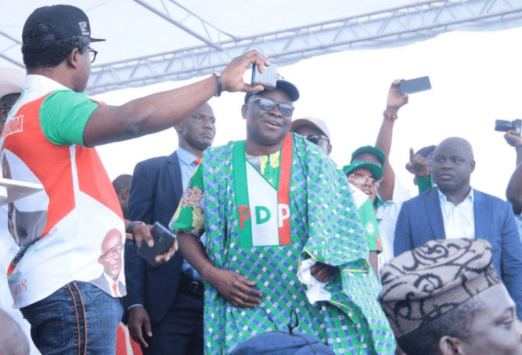 Probe: I won't appear till my tenure expires, Fayose tells EFCC