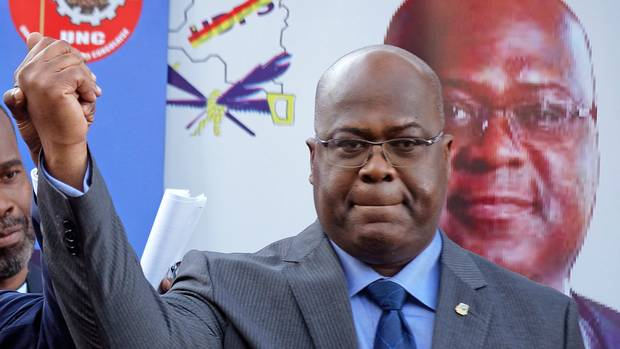 DR Congo election body declares opposition candidate, Tshisekedi winner of presidential poll