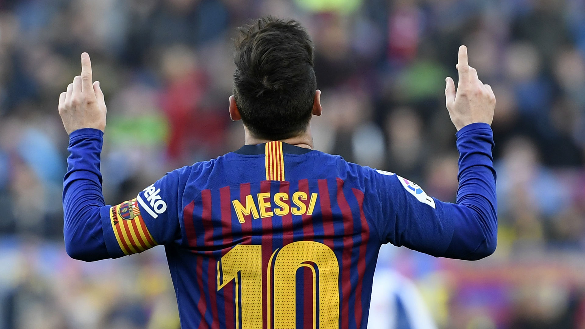 Messi scores first goal of season in Barcelona win